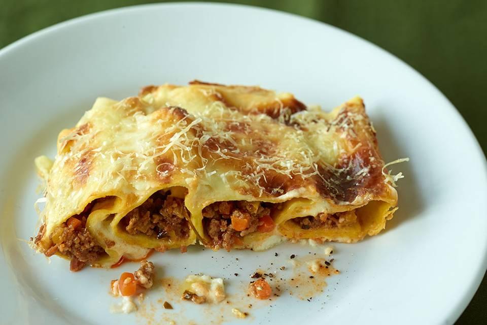 Cannelloni mit Hackfleischfüllung Rezept