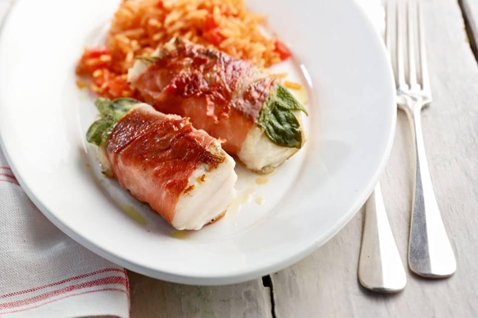 Fisch-Saltimbocca Rezept