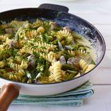 Pasta mit Gorgonzola-Sauce