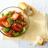 Tomaten-Basilikum-Salat