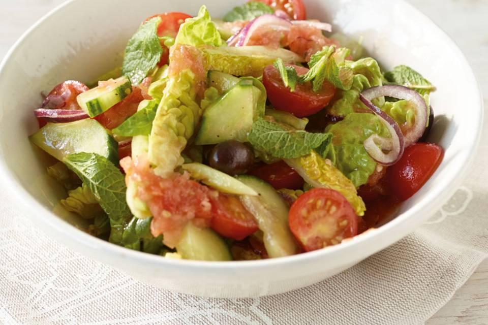 Gurken-Tomaten-Salat Rezept