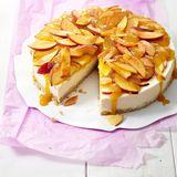 Pfirsich-Frischkäse-Torte
