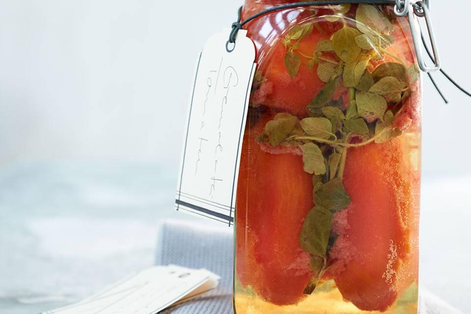 Gremolata-Tomaten Rezept