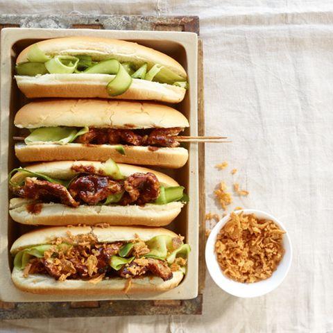 BBQ-Saté-Hotdog