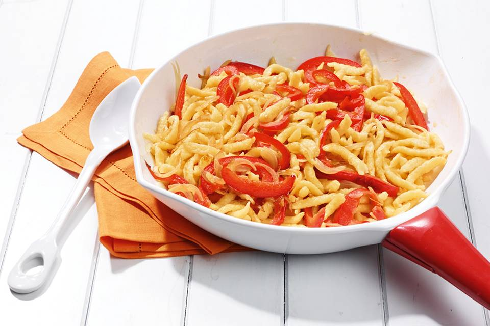 Paprika-Spätzle Rezept