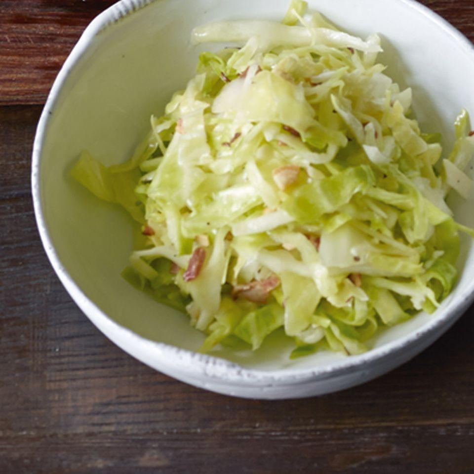 Krautsalat mit Speck