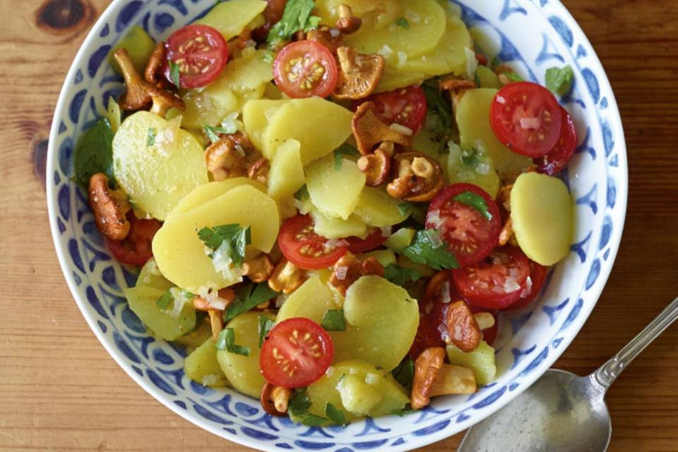 Kartoffel-Pfifferling-Salat Rezept