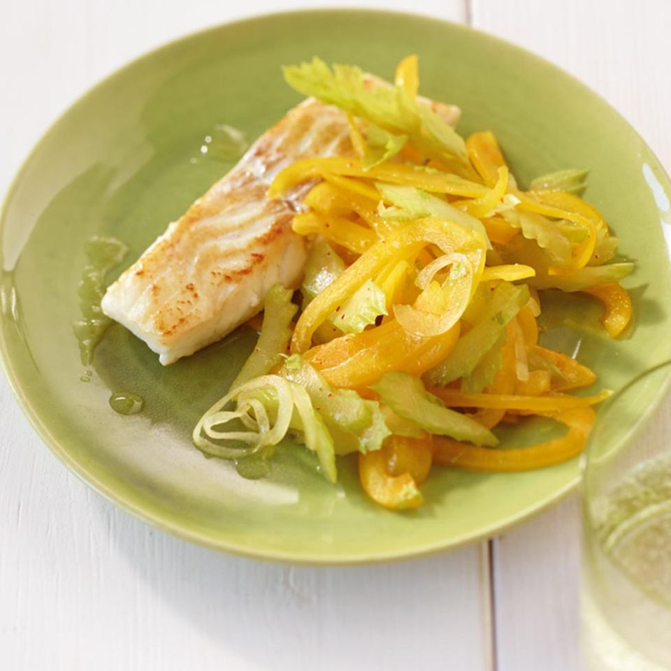 Paprika-Sellerie-Salat
