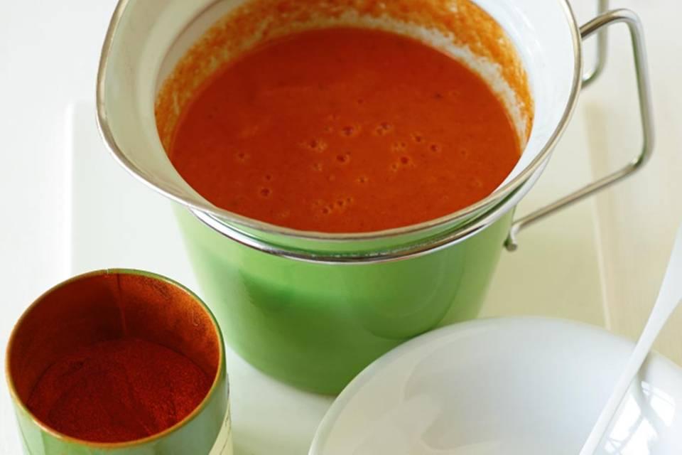 Paprika-Sugo Rezept