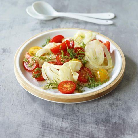Tomaten-Fenchel-Salat