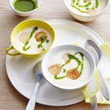 Kartoffel-Ingwer-Suppe