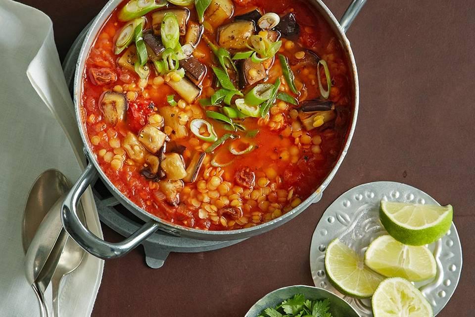 Linsen-Tomaten-Eintopf Rezept