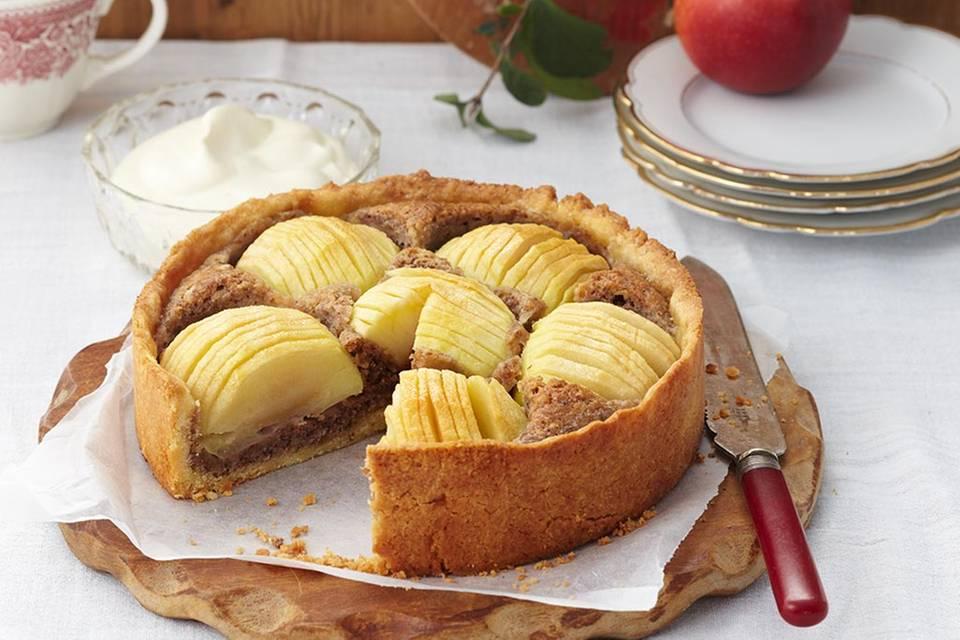 Apfel-Walnuss-Kuchen Rezept