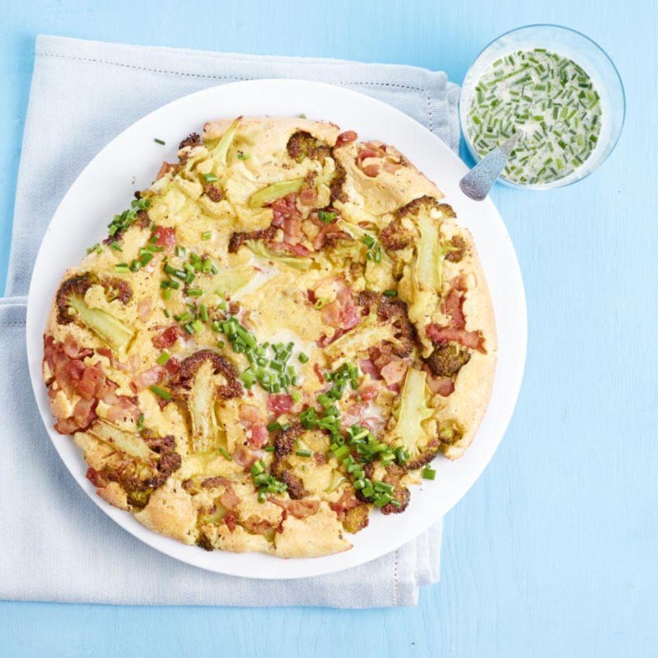 Broccoli-Speck-Pfannkuchen