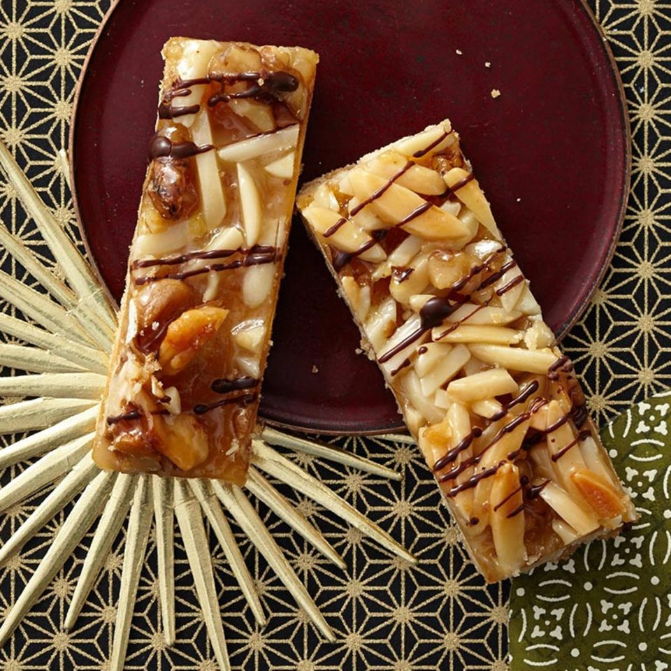 Mandel-Walnuss-Karamell-Kekse