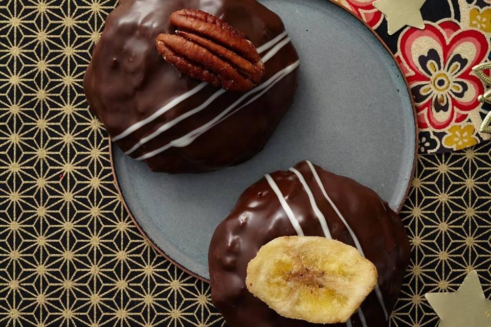 Bananen-Pecannuss-Lebkuchen Rezept
