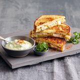 French Toast mit Avocado-Dip