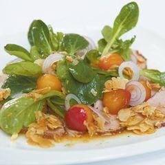 Gewürzfilet mit Salat