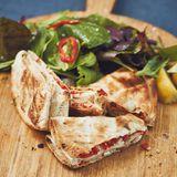 Gefüllter Tortilla-Fladen