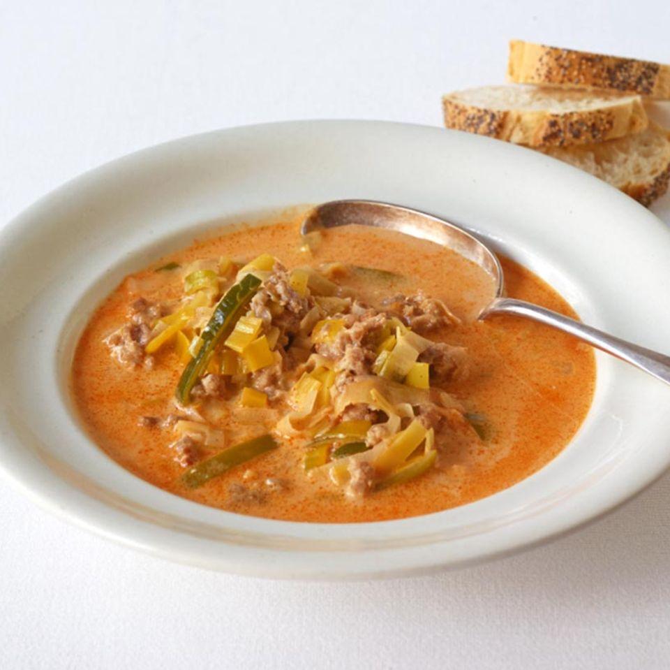 Mett-Lauch-Suppe