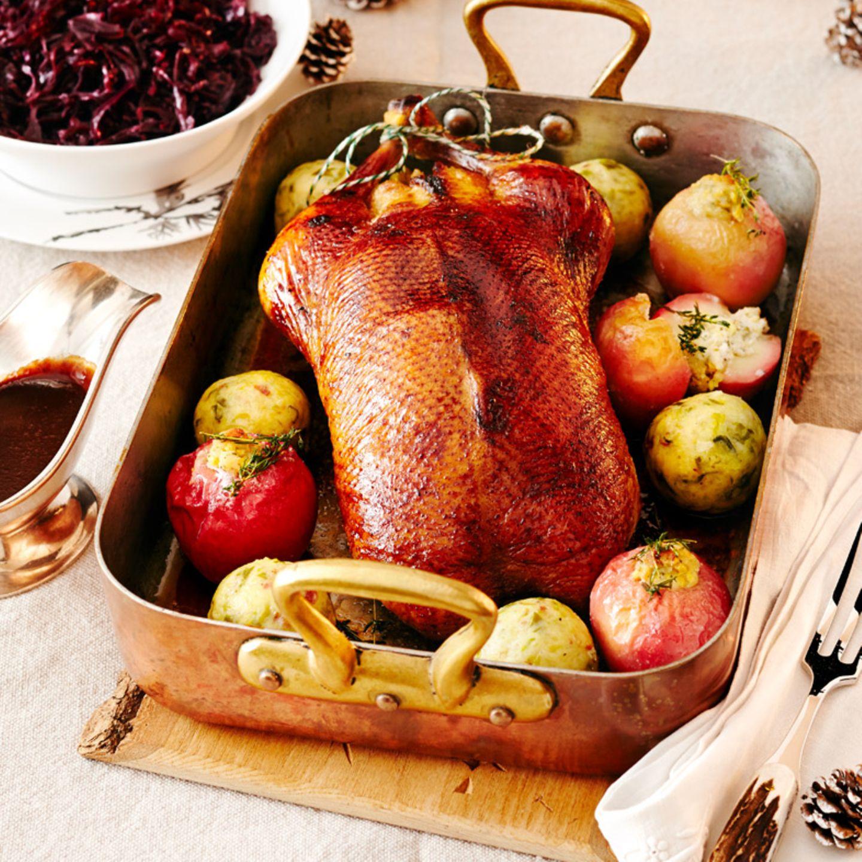 Weihnachtsbraten: Ente