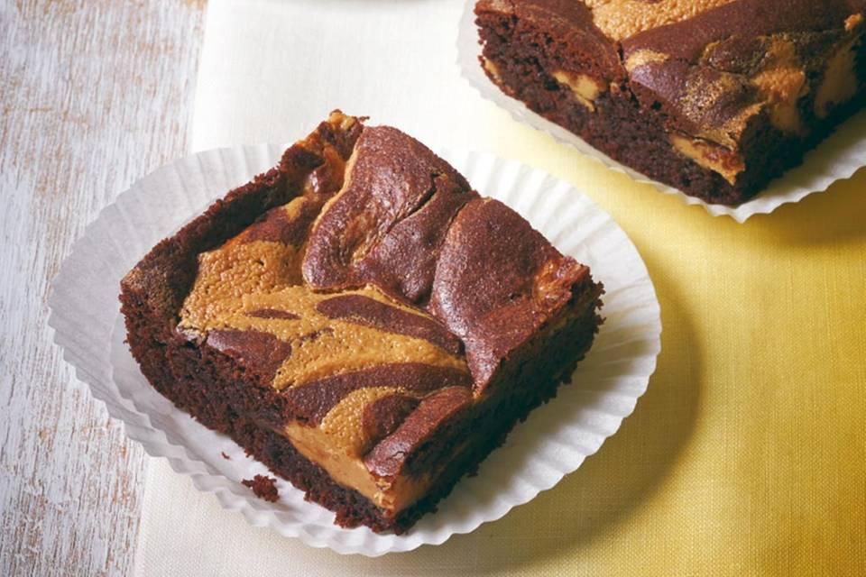 Erdnussbutter-Brownies Rezept