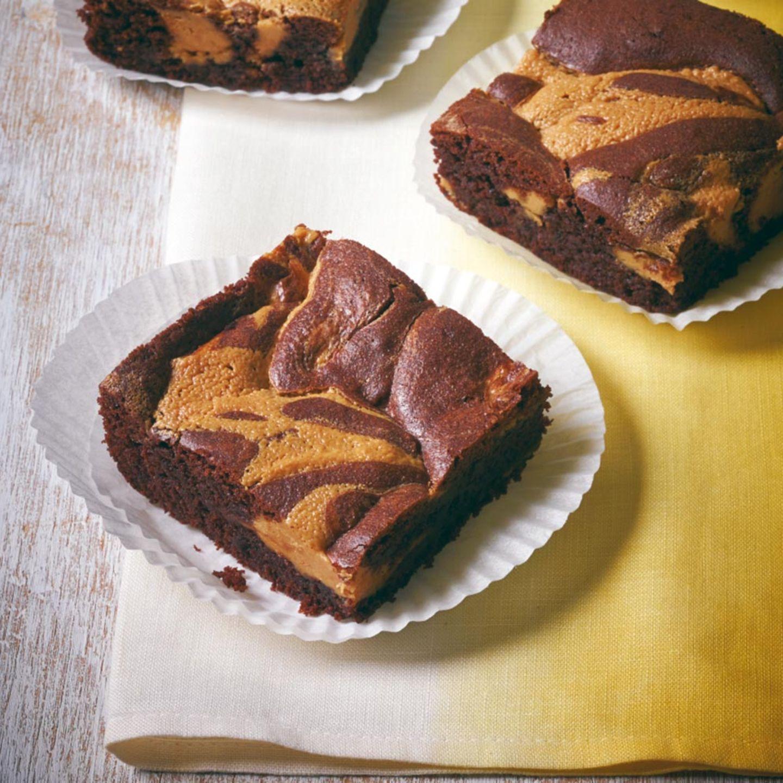 Erdnussbutter-Brownies