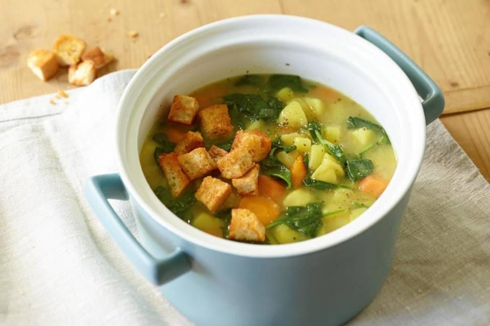 Kartoffel-Spinat-Eintopf Rezept