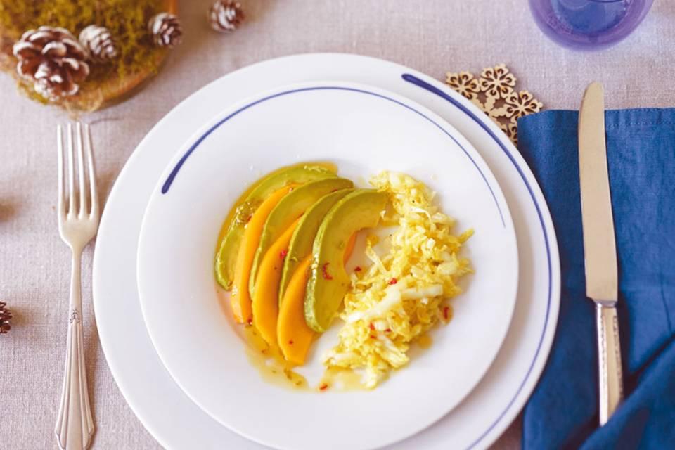 Avocado-Mango-Salat Rezept