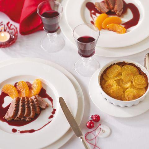 Weihnachten: Einfache Festessen