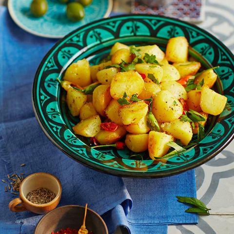 Scharfe Kartoffeln