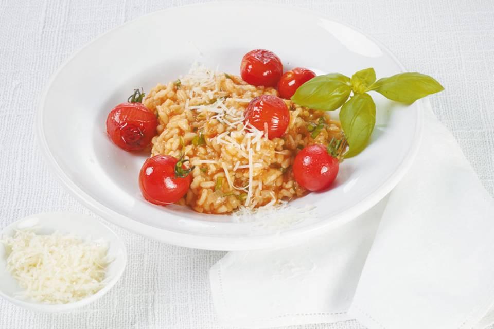 Tomaten-Risotto Rezept