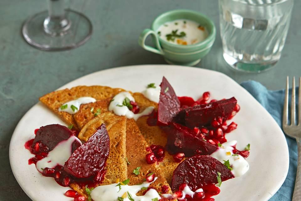 Kichererbsen-Pfannkuchen Rezept