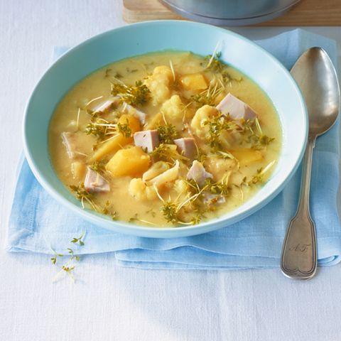 Kartoffel-Blumenkohl-Eintopf