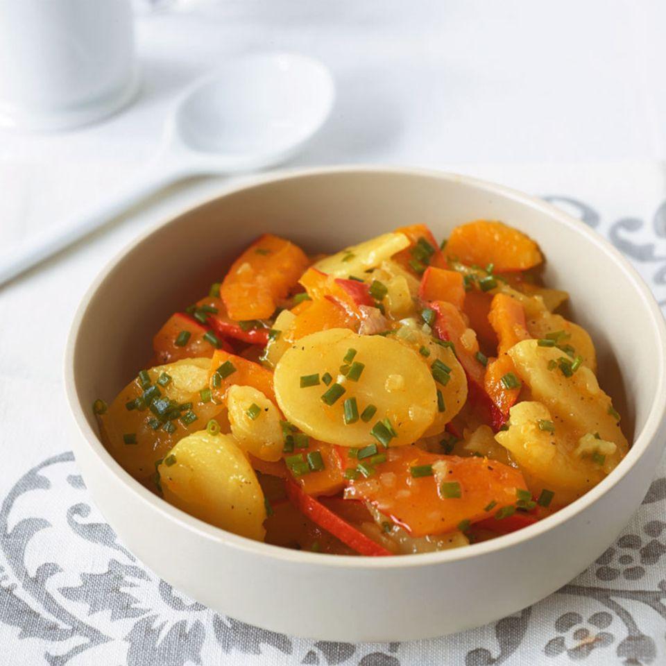 Kürbis-Kartoffel-Salat