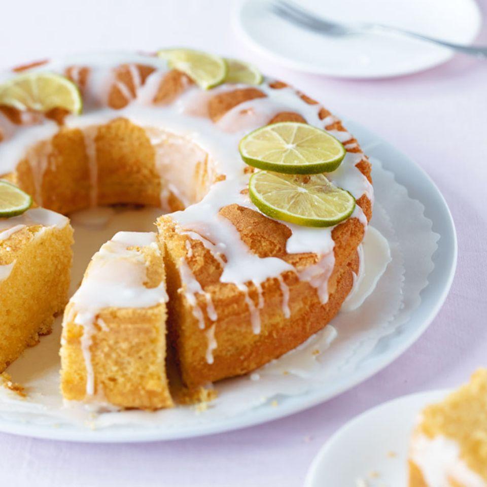 Limetten-Kranzkuchen