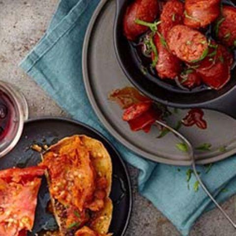 Chorizo mit Cidre