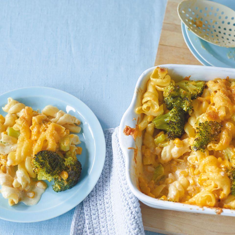 Broccoli-Nudel-Auflauf
