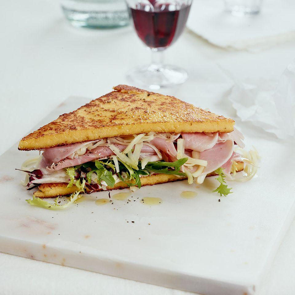 Polenta-Sandwich