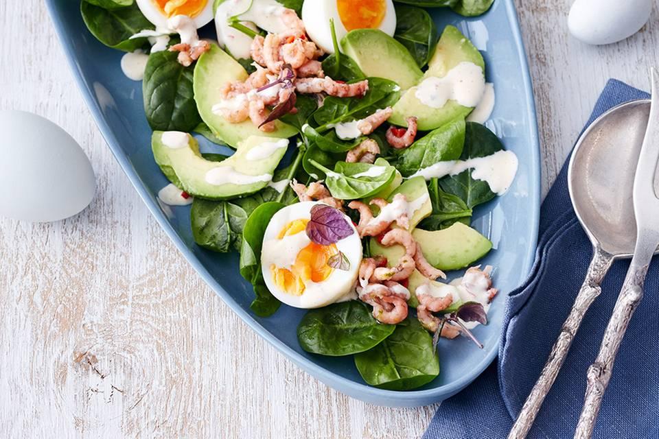 Eier-Krabben-Salat Rezept