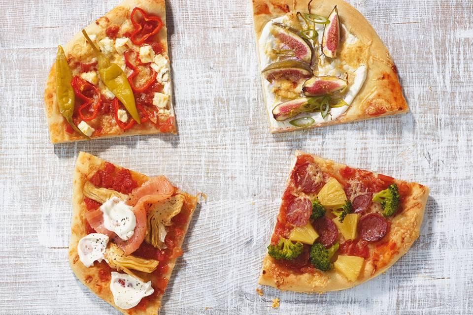 Pizza Norge Rezept
