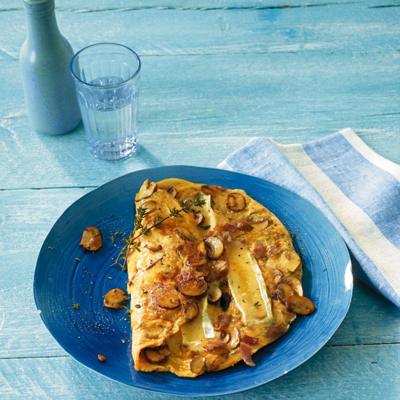 Pilz-Omelett