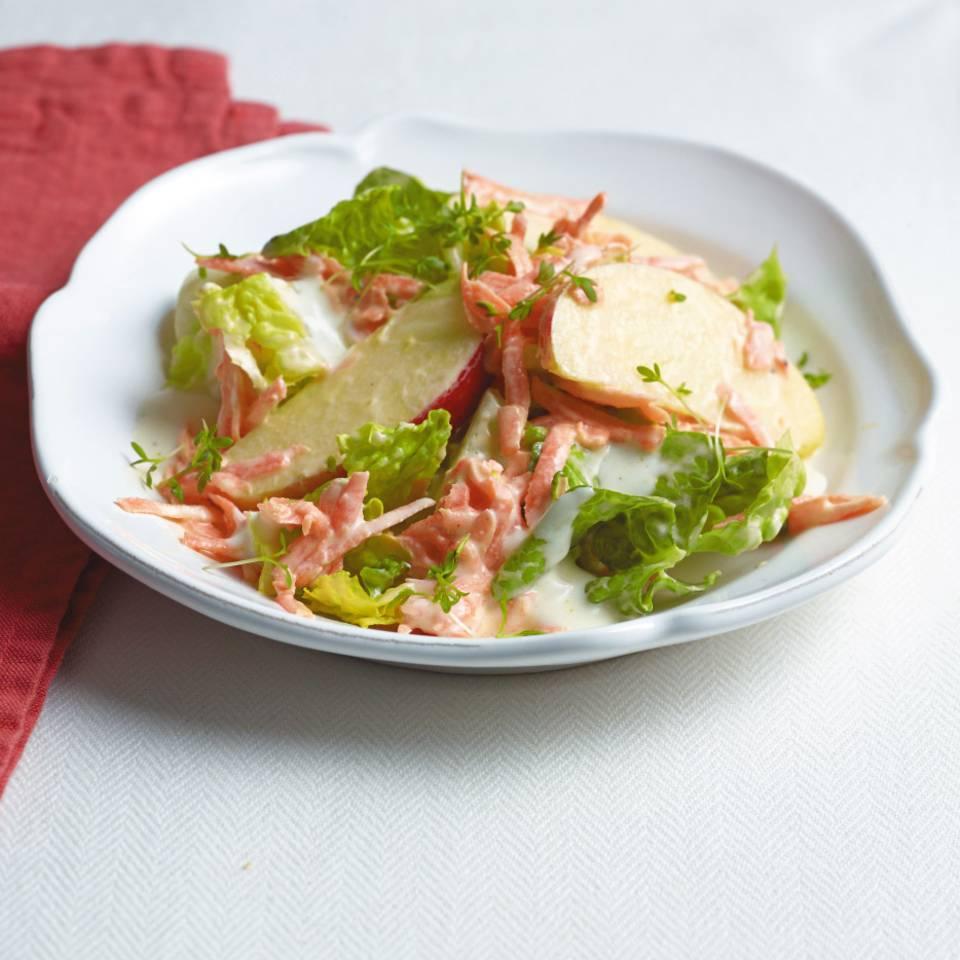 Möhren-Apfel-Salat Rezept