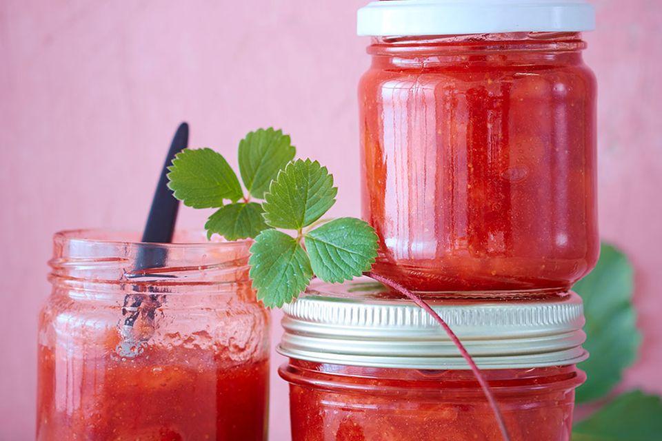 Erdbeer-Konfitüre und Gelee: leckere Rezepte