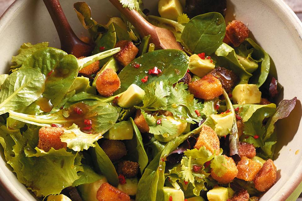 Avocado-Kartoffel-Salat Rezept