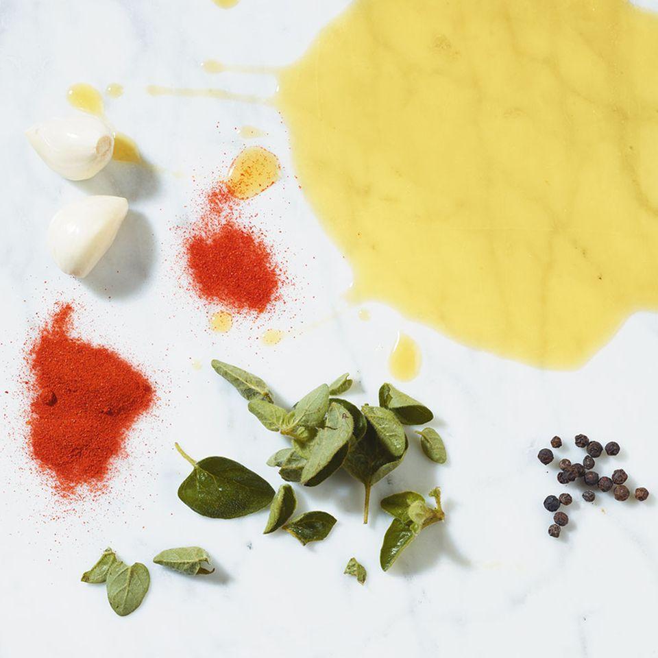 Paprika-Knoblauch-Marinade