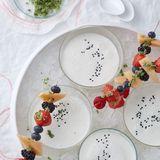 Joghurt-Holunder-Süppchen