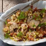 Porchetta-Fleischsalat