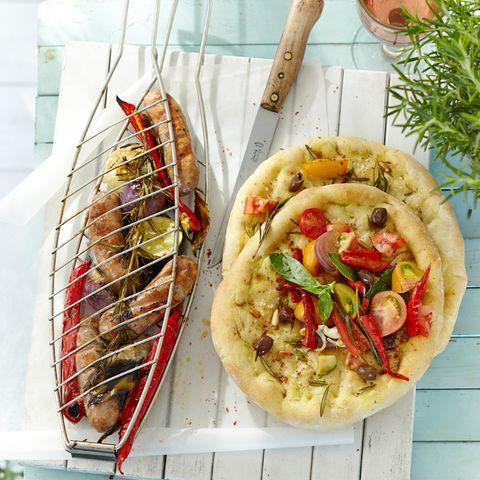 Salsiccia-Gemüse-Zange