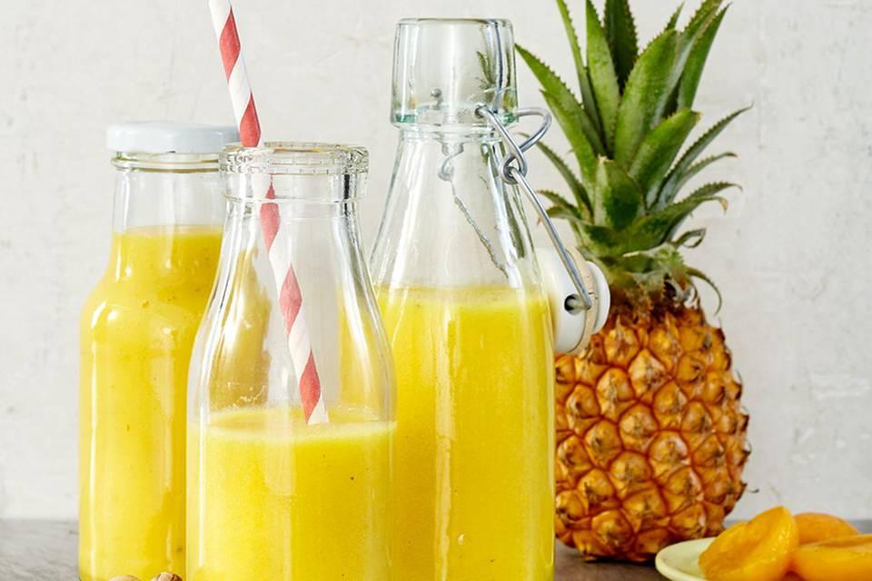 Gelber Smoothie Rezept